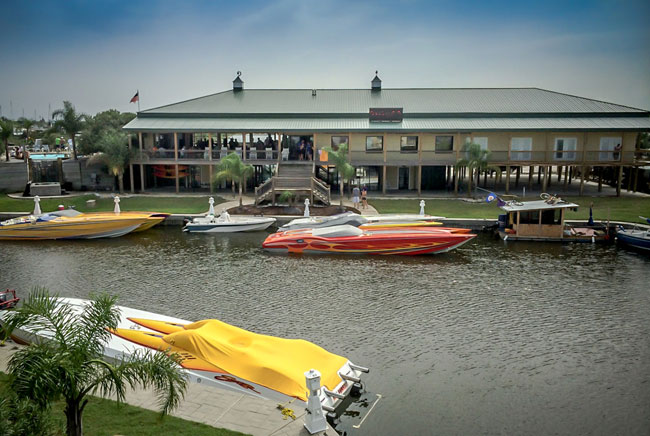 New Marina in New Orleans at Pontchartrain Landing Resort