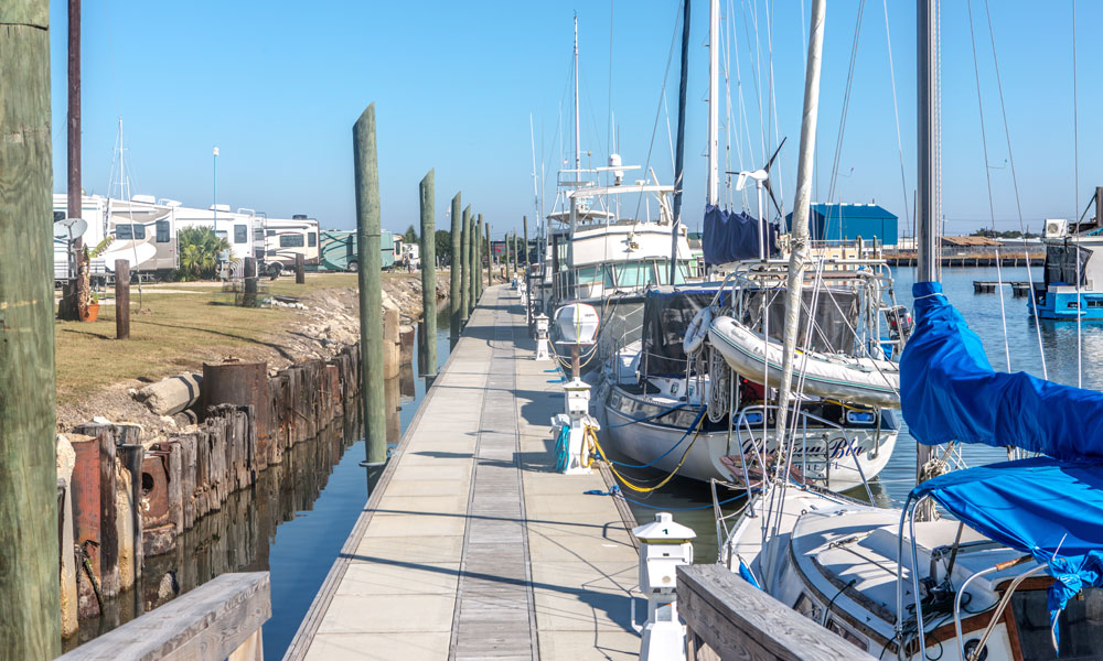 New Orleans Marina and RV campground